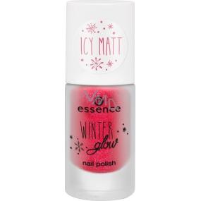 Essence Winter Glow Nail Polish lak na nechty 01 Miss Frost 8 ml