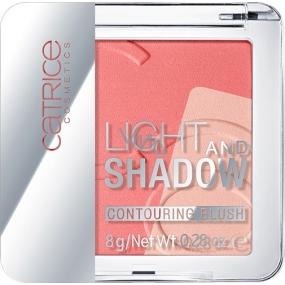 Catrice Light And Shadow Contouring Blush tvárenka 020 A Flamingo In Santo Domingo 8 g