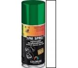 Colorlak Uni sprej univerzální akrylkombinační barva 1000 Bílý lesk 160 ml