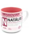 Nekupto Hrnkoviny Hrnček s menom Natálie 0,4 litra