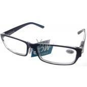 Berkeley Čítacie dioptrické okuliare +4,0 plast čierne 1 kus MC2062