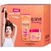 Loreal Paris Elseve Dream Long obnovujúci šampón na vlasy 250 ml + SOS maska na vlasy 300 ml, kozmetická sada