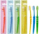 Spokar 3416 Clinic Hard tvrdý zubná kefka, vlákna s rovným zástrihom a precízne zaoblenými koncami