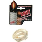 Fire Knôt bavlnený + sklené vlákno guľatý určený pre pochodne 9 mm / 50 cm 1 kus