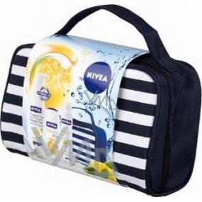 Nivea Kazhappy tělové mléko 400 ml + sprchový gel 250 ml + antiperspirant 150 ml + taška,pro ženy kosmetická sada