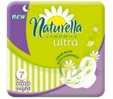 Naturella Camomile Ultra Night intimní vložky 7 kusů