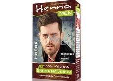 Henna Men Barva na vlasy pro muže hnědá 33 g