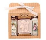Bohemia Natur Vánoce sprchový gel 100 ml + Anděl ručně vyráběné mýdlo 80 g + Šípek a Růže olejová lázeň 100 ml