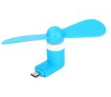 DARČEK Perspirex Micro USB vetráčik modrý