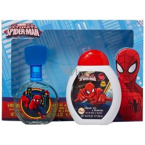 Marvel Spiderman toaletná voda pre deti 100 ml + 2v1 sprchový gél 300 ml, kozmetická sada
