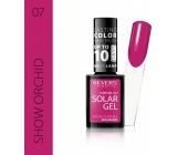 Reverz Solar Gél gélový lak na nechty 07 Show Orchid 12 ml