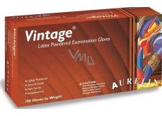 Rukavice Latex púder Vintage 100ks M * 0032