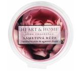 Heart & Home Zamatová ruža Sójový prírodný voňavý vosk 26 g