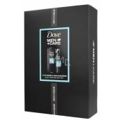 Dove Men + Care Clean Comfort sprchový gél pre mužov 250 ml + antiperspirant dezodorant sprej 150 ml, kozmetická sada