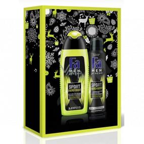 Fa Men Energy Boost sprchový gel 250 ml + dezodorant sprej 150 ml, kozmetická kazeta