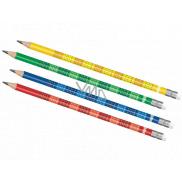 Colorino Ceruzka s malou násobilkou 1 kus rôzne farby