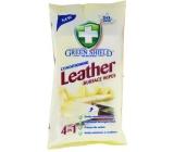 Green Shield 4v1 Koža a koženka vlhčené čistiace obrúsky 50 kusov