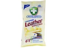 Green Shield Conditioning Leather na koži vlhčené obrúsky 50 kusov