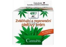 Bione Cosmetics Bio Cannabis zvláčňující a regenerační pleťový krém 51 ml