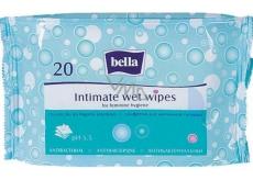 Bella s antibakteriálním účinkem vlhčené ubrousky pro intimní hygienu 20 kusů