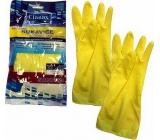 Clanax Latexové rukavice Standard M-8 střední 1 pár