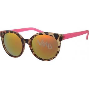 Nae New Age Sluneční brýle leopardí růžové A40252