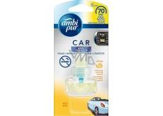 Ambi Pur Car Anti Tobacco Citrus osviežovač vzduchu do auta náhradná náplň 7 ml
