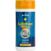 Alpa Sulfothion zásyp na nohy so sírou 100 g