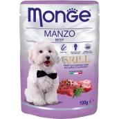 Monge Dog Grill hovädzie kapsička 100 g