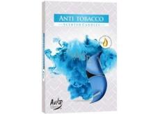 Bispol Aura Anti Tobacco vonné vonné čajové svíčky 6 kusů