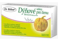 Dr. Bohm Dýňové tablety pro ženu s citlivým močovým měchýřem 30 tablet