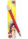 Nekupto Buď Jedinečná puzdro s perom Pop 16 x 3,2 cm