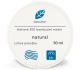 Aromatica Bebutter Bio Natural šľahané bambucké maslo pre jemnú a citlivú pokožku 50 ml