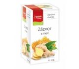 Apotheke Natur Zázvor a med ovocný čaj napomáha k tráveniu, dýchanie a duševnej pohode, 20 x 2 g
