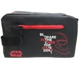 Etue čierna koženková Star Wars červené zipsy +