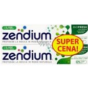Zendium BioFresh zubná pasta s fluórom pre citlivé zuby, spevňuje zubnú sklovinu 2 x 75 ml, doupack