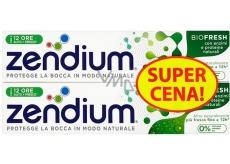 Zendium BioFresh zubní pasta s fluorem pro citlivé zuby, zpevňuje zubní sklovinu 2 x 75 ml, doupack