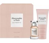 Abercrombie & Fitch Authentic Woman toaletná voda 50 ml + telové mlieko 200 ml, darčeková sada