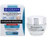 Soraya Hyaluronic Micro-Injection 40+ regeneračný krém s transdermálnej kyselinou hyalurónovou na deň / noc 50 ml