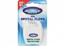 Beauty Formulas Dentálna dentálna zubná niť s mätou voskovaná 100 metrov