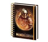Epee Merch Star Wars - Mandalorianov Bounty Hounter Blok A5 21 x 14,8 cm krúžkový