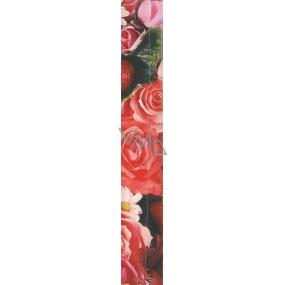 Nekupto Darčekový baliaci papier 70 x 150 cm Červené ruže 1 role