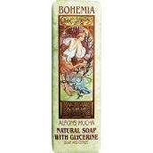 Bohemia Gifts & Cosmetics Alfons Mucha Oliva a citrus toaletní mýdlo 125 g