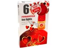 Tea Lights Romantica s romantickou vôňou vonné čajové sviečky 6 kusov