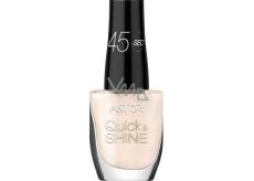 Astor Quick & Shine Nail Polish lak na nehty 620 Madeleine 8 ml