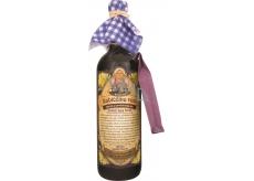 Bohemia Gifts & Cosmetics Babiččino víno k macerácii červenej darčekovej víno - čierny bez kvet 750 ml