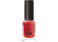 Dermacol 5 Day Stay Dlouhotrvající lak na nehty 21 Monroe Red 11 ml