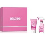 Moschino Fresh Couture Pink toaletná voda pre ženy 30 ml + telové mlieko 50 ml, darčeková sada