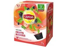Lipton Black Tea Forest Fruits - Lesní ovoce aromatizovaný černý čaj kapsle Dolce Gusto 12 kusů 33,6 g