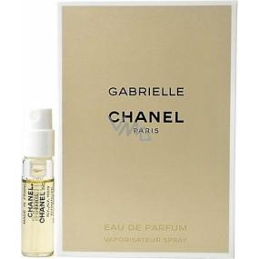 Chanel Gabrielle toaletná voda pre ženy 1,5 ml s rozprašovačom, vialky